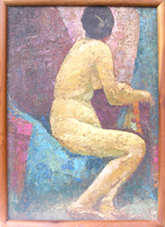Photo of Painting. Subject- Nude